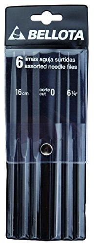 Bellota 4078-16 - Juego de 6 limas de aguja en bolsa