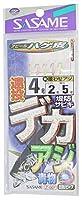 ささめ針(SASAME) Z-007 堤防遠投デカアジハゲカ皮アピール 7-4