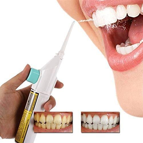 WANGYUJIE Limpiador Dental de Dientes Rojos, Lavado de Dientes, Enjuague bucal, Limpieza de Dientes, Hilo Dental