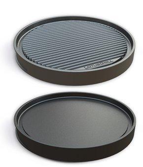 LotusGrill grill-plaque teppanyaki - spécifiquement développe pour la faible fumée Barbecue à charbon de bois / TABLE BARBECUE