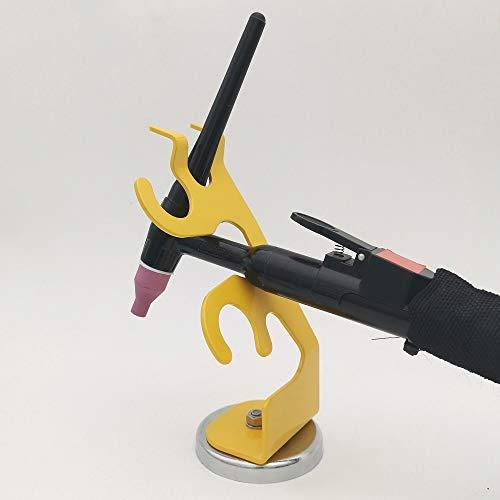 VASTOOLS Schweißen WIG-Brennerhalter/Brennerhalter mit Magnetfuß/Schweißbrenner-Halterung für WIG, MIG und PLASMA - 2
