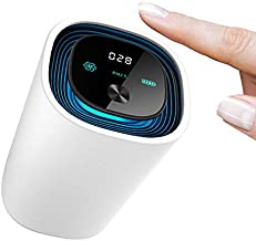 UVLABS Wireless UV Intelligent Air Purifier & Ionizer | Portable Smart PM2.5 Air Quality Monitor | Car Cup Holder Attachment | Kills 99.9% of Viruses & Bacteria (White)…