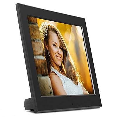 "Aluratek - 8"" Slim Digital Photo Frame with Auto Slideshow 1024 x 768 Hi-Res"