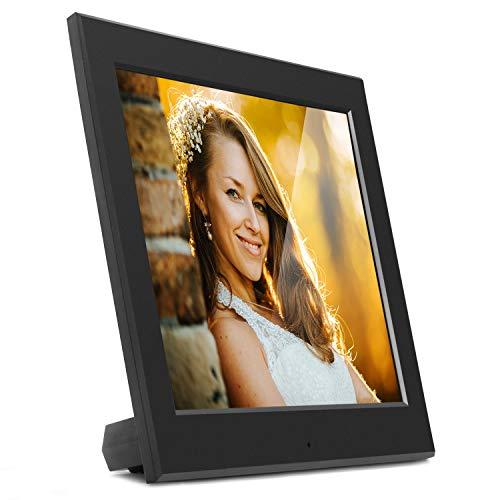 Aluratek Digitaler Bilderrahmen mit automatischer Diashow 1024 x 768 Hi-Res 20,3 cm