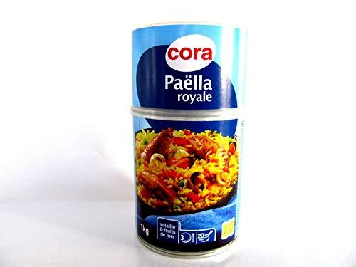 Cora Paella royale, mit Geflügel und Meeresfrüchte aus Frankreich, 1 kg.