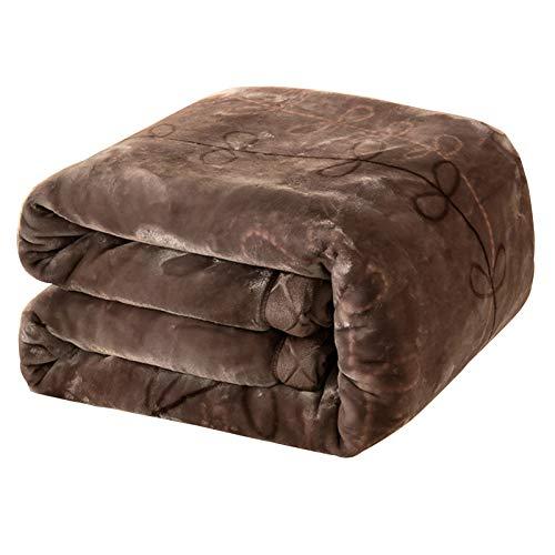 Mantas Manta multifuncional de doble cara, engrosamiento de doble capa, colcha manta, no fácil de cobarde, utilizada for la manta de sofá, manta de la siesta, hoja de cama ( Size : 59.06*78.74in )