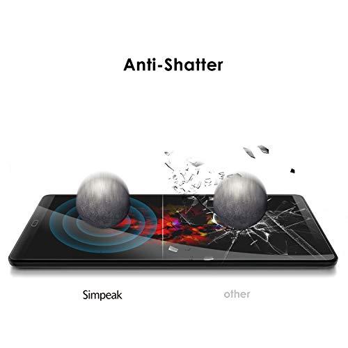Simpeak 2-Stück Panzerglas Schutzfolie Kompatibel für Samsung Galaxy Tab A 10.1 2019 [2 Pcs], Hartglas Tempered Glass Screen Protector Kompatibel mit Galaxy Tab A 10.1 (2019)