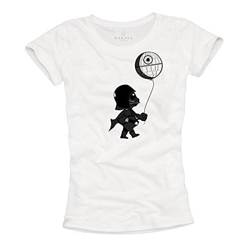 Baby Vader - Camisetas Divertidas Originales Mujer