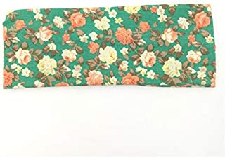 Qinqin666 Diadema Flor de Las Mujeres de la Vendimia Diadema Impreso Bufanda Principal Venda elástico del Pelo, Vendas de los Accesorios del Pelo, 10Pcs