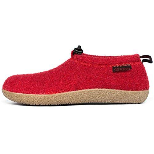 Giesswein Vent, Pantoffeln Unisex-Erwachsene, Rot, 38 EU