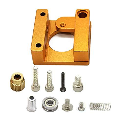 Jaimenalin 3D Drucker Mk8 Extruder Aluminium Rahmen Block DIY Kit (Rechts) für Makerbot Reprap Prusa I3