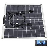 Weiyiroty Cargador Solar, Panel Solar de 40 W, Panel Solar, Cargador Solar Profesional para Exteriores, anticorrosión para Ventana Interior(20A)