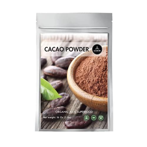 Naturevibe Botanicals Cocoa Powder 1lb | Used for baking (16 ounces)