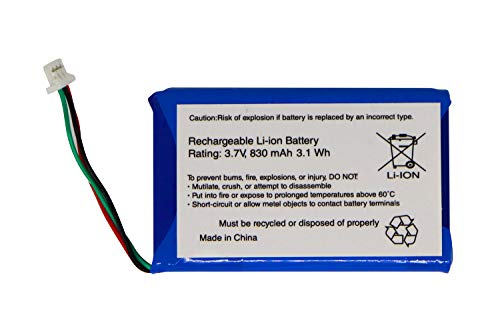 Replacement GPS Battery for Garmin Nuvi 55LM 50LM 50 30 55LMT, Part No. 361-00056-00
