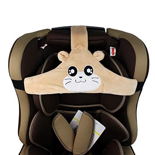YOUNICER Schönes Design Baby Kind autositz kopfgurt Einstellbare Kopfschutzgurt Gürtel Schlaf Positionierer Gurtschutz Kopfstütze Nackenstütze für Kinder Baby