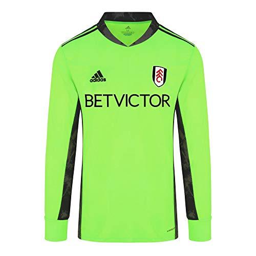 Fulham Football Club 20/21 GK Trikot FI4192, grün/schwarz Gr. M, grün/schwarz