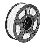 Dremel 3D Filamento Blanco ECO-ABS 1.75mm para impresoras 3D, con RFID, Superpack de 750gr
