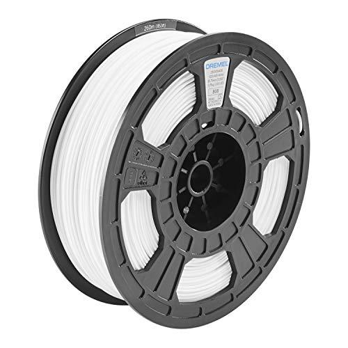 Dremel 3D ECO-ABS für Digilab 3D-Drucker (750 g Spool, 1.75 mm, RFID) Weiss