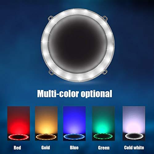 BLINNGO Cornhole Ring Lights and Cornhole Edge Lights, LED Cornhole Lights fit for Standard Cornhole Boards and Cornhole Bags (Cold White)
