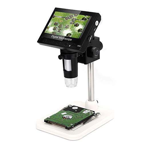 Digital Microscope,WADEO 1000X 4.3' LCD Display Electronic Video Magnifier...