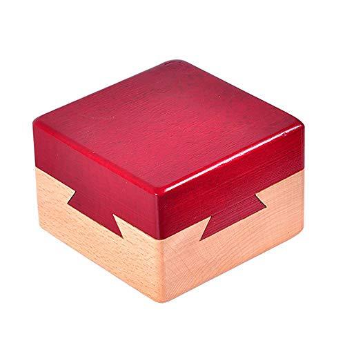 Amasawa Caja de Rompecabezas de Madera,Caja de Juguetes Creativa,Caja de Rompecabezas,Secreto Caja de Regalo Cerebro Madera Puzzle Adulto y Niño