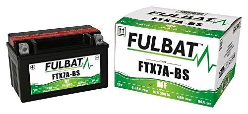 Rex Milano 50 4T, Milano 125, 2011-2017, FTX7A-BS, Wartungsfreie AGM, MF Fulbat Batterie