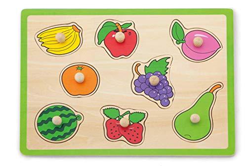 VIGA Plano Puzzle Frutas