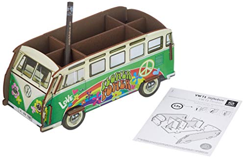 Werkhaus - Stiftebox Stifteköcher, VW T1, Hippie WE2007