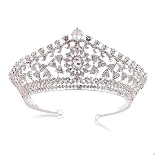Dongyu Corona, Novia Boda Princesa Bola Cristal Tocado Pedrería Adecuado For Niños...