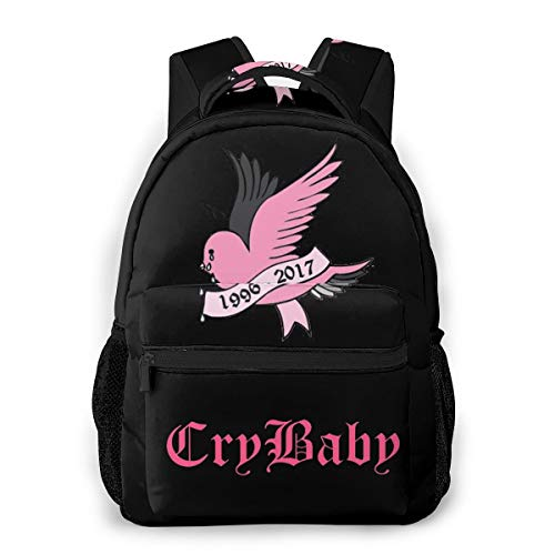 TVXQXIAH Lil-Peep Merch Lil-Peep Backpack Large Capacity Bag Laptop Bag for Youth