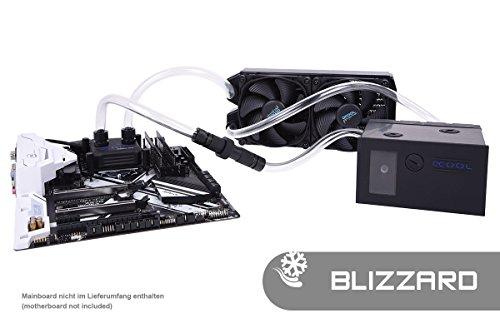 Alphacool 11471 Eissturm Blizzard Copper 45 2x120mm - Komplettset Wasserkühlung Sets und Systeme