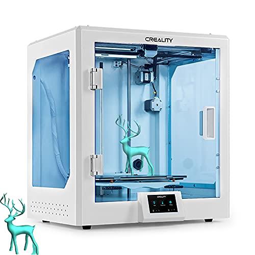 YILUFA Creealidad CR-5 Pro Impresora 3D Que Reanuda La Impresión con La Placa Base Silenciosa Carborundum Cristal Plataforma Grande De Impresión Creativa 300x225x380mm