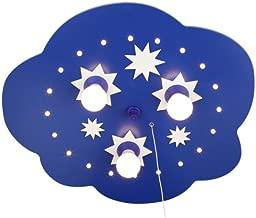 Elobra Tavan Lambası Yıldız Bulutu, koyu mavi 124208