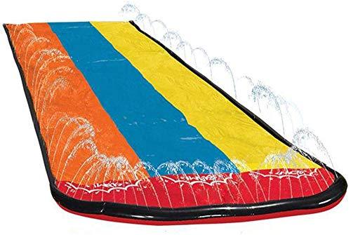 YRRA NIÑOS S TIENCIA DE Agua TIENDIENTE DE Agua DE Agua DE NIÑOS Jardín de jardinería Piscina Inflable Grande/Tres Personas Mats al Aire Libre Hierba de Agua Slide Slide Surfing Board Juego