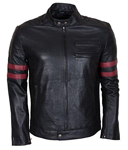 Lemoko blouson textile noir ou noir//blanc taille s /à 3XL