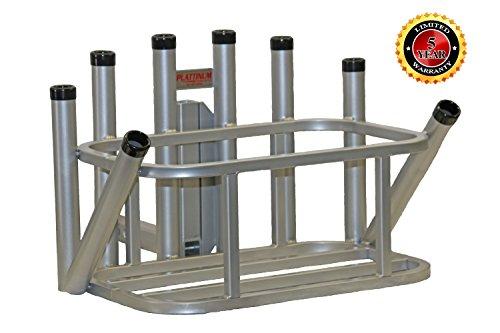 Plattinum Products Rod Rack Cooler Holder Combo (Mill Finish)