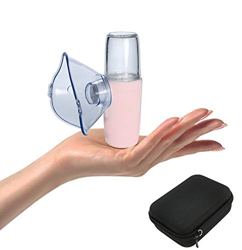 ShareMoon Portable Mesh Vaporizer Machine, Handheld Mini Humidifier with Carry case for Travel and Home Daily Use
