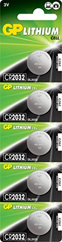 GP Batteries CR2032-C5 Lithium Coin Cell