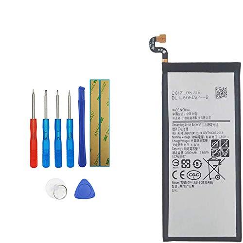 Upplus E-YIIVIIL EB-BG935ABE Batterie de rechange compatible avec Samsung Galaxy S7 Edge SM-G935F avec kit d'outils