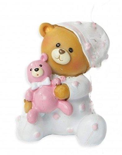 Spardose Sparbüchse Baby Taufe Geburt Geldgeschenk | rosa, oder blau | Bärchen, Teddy (rosa)