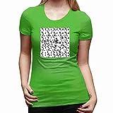 ダルメシアンスポットオンスポット Girl T-Shirt ファッション ガールズ Tシャツ カットソー