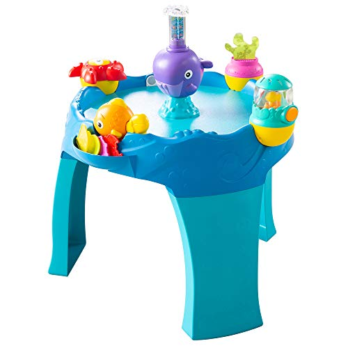 Lamaze 3-in-1 Airtivity Center - Developmental Activity Center Grows with Baby - Features Floor Play, Table Play & Game Play, Multi