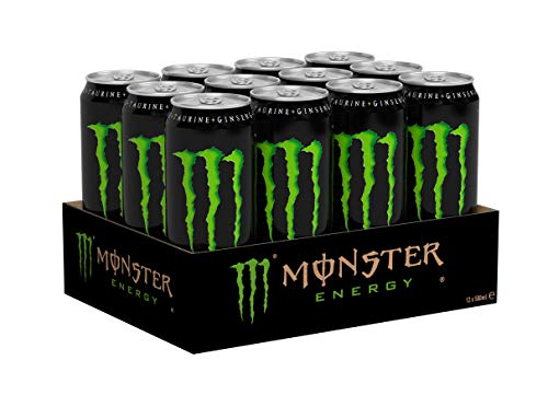 Monster Energy Drink 12 x 0,5l Dose