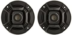 High performance audio upgrade that delivers signature quality sound that goes beyond OEM factory systems Marine certified with IP55 rating (water- and dirt-resistant) and tested for salt-fog, UV and humidity Polypropylene and UV tolerant cone with w...
