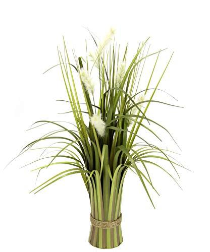 Flair Flower Grasbündel Fuchsschwanzgras Stehgras Gras Kunst Kunstgras Unechte Blumen Pflanze Grünpflanze Künstliches Ziergras Dekogras Grasarrangement