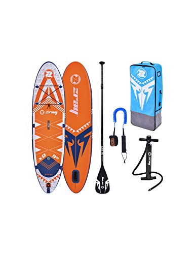 zray Adulte Unisexe, Sup 9'9' Stand up, Paddle, Planche, Surf, Board, Jaune, 297x76x15cm 9''x30''x6, X Rider 9.9