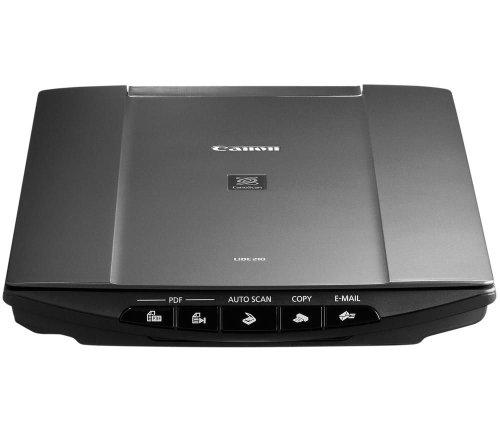 Canon CanoScan LiDE 210 4800 х 4800 Flachbettscanner Schwarz - Scanner (216 x 297 mm, 4800 х 4800, 48 Bit, 10 Sekunde/Seite, Flachbettscanner, Schwarz)