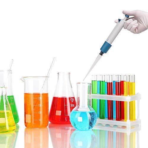 Beslands Scientific Mikropipette, Pipette Mikroliter, Einkanalpipette Instrument für Dosieren, Laborwerkzeug 1-10ML