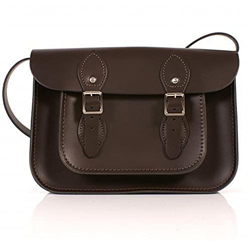 Leather Satchel's, Cartable mixte adulte Marron 11\