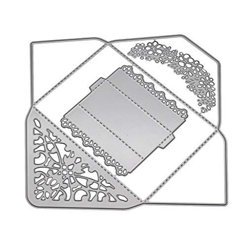 Youlin DIY Cutting Dies Scrapbooking Schablonen Metall Stanzschablonen Album Briefmarken Papier Karte